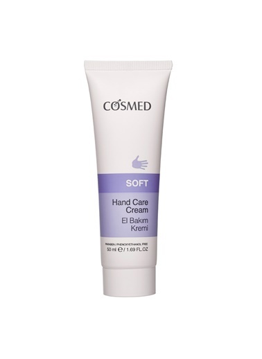 Cosmed COSMED Soft Hand Cream 50 ml - El Kremi Renksiz